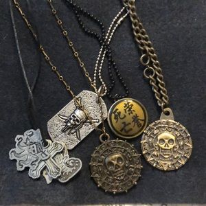 Disney Pirates of the Caribbean necklace